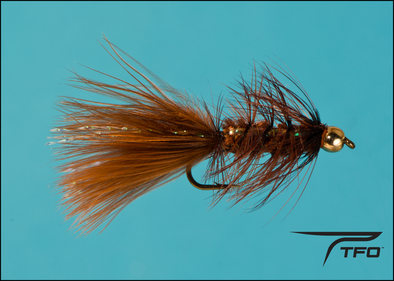 Beadhead Woolly Bugger Brown | TFO - Temple Fork Outfitters Canada