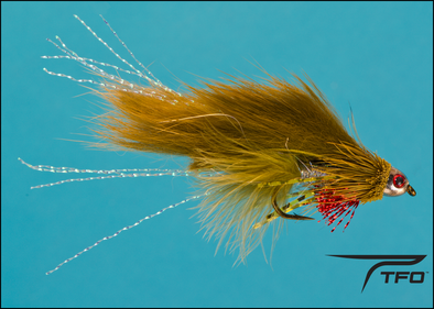 Conehead Crosseyed Muddler Olive | TFO - Temple Fork Outfitters Canada