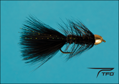 Conehead Krystal Bugger Black | TFO - Temple Fork Outfitters Canada