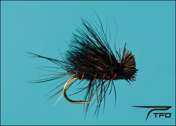 Caddis Elk Wing Black | TFO - Temple Fork Outfitters Canada