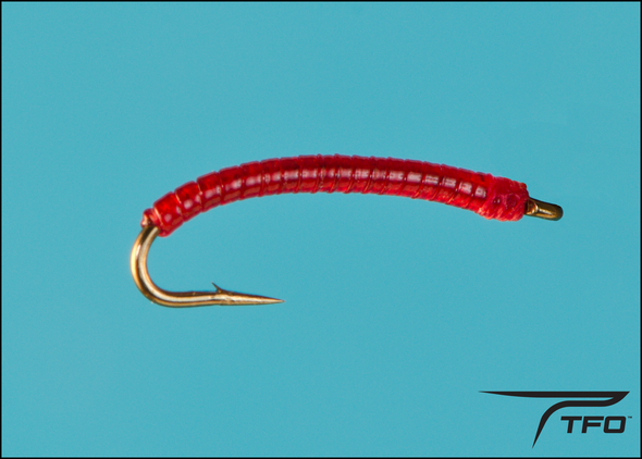 Midge Larva Red | TFO - Temple Fork Outfitters Canada