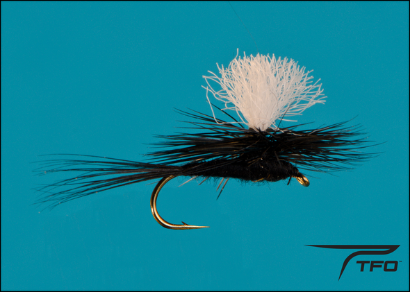 Parachute Black Gnat | TFO - Temple Fork Outfitters Canada