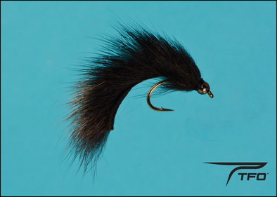 Beadhead Pine Squirrel Leech - Black Fly fishing nymph | TFO - Temple Fork Outfitters Canada