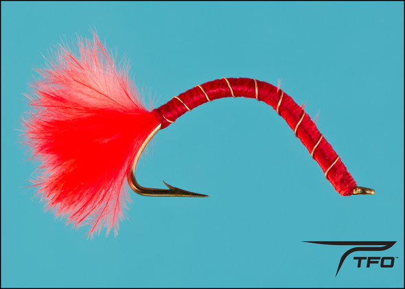 San Juan Worm Red Wtd | TFO - Temple Fork Outfitters Canada