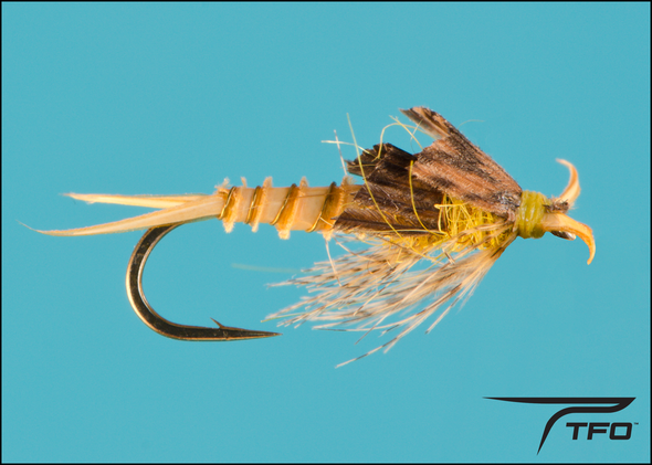 Stonefly Little Yellow Nymph | TFO - Temple Fork Outfitters Canada