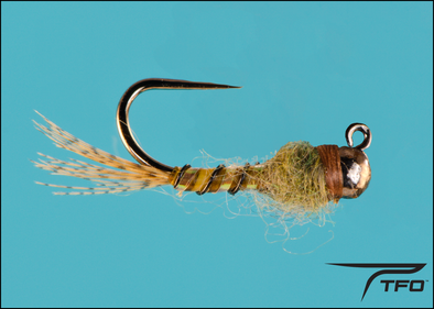 Tungsten Beadhead  Jig Baetis Fly fishing nymph | TFO - Temple Fork Outfitters Canada