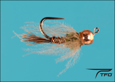 Tungsten Beadhead Jig CDC Flashback Pheasant Tail Fly fishing nymph | TFO - Temple Fork Outfitters Canada