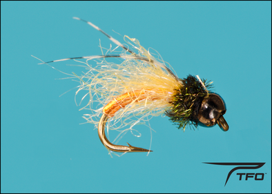 Tungsten Bead Caddis Pupa Tan | TFO - Temple Fork Outfitters Canada