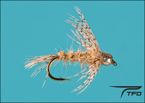 Tungsten Beadhead Hare's Ear Soft Hackle Nymph | TFO - Temple Fork Outfitters Canada