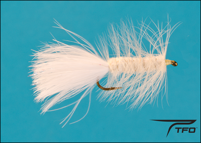 Woolly Bugger White | TFO - Temple Fork Outfitters Canada