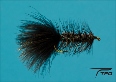 Woolly Bugger Crystal Black | TFO - Temple Fork Outfitters Canada