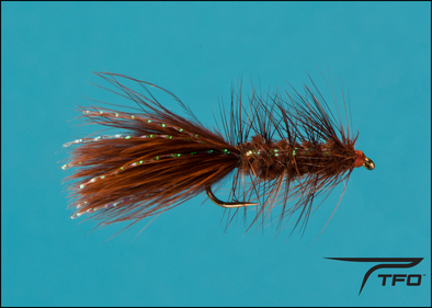 Woolly Bugger Brown | TFO - Temple Fork Outfitters Canada