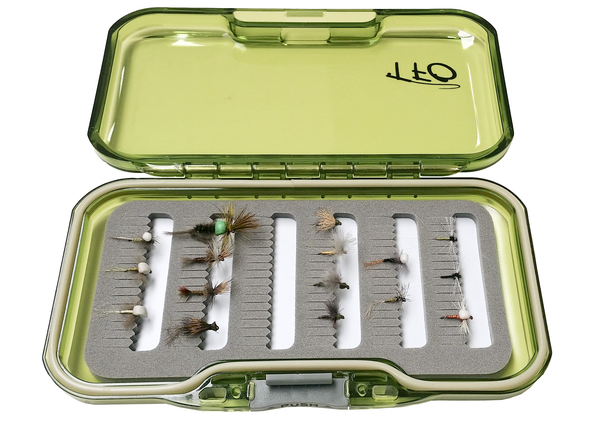 Cripples Emergers and spinner flys with fly box