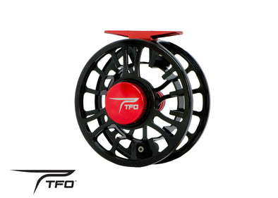 TFO NV Fly Reel back view