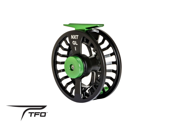 TFO NXT GL I FLY REEL-LARGE ARBOR 3/5