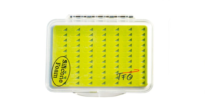 F Fityle Fly Fishing Box Flies Case Waterproof 4 Sided Clear View Easy Gip Slit Foam Box Hold Hundreds of Flies