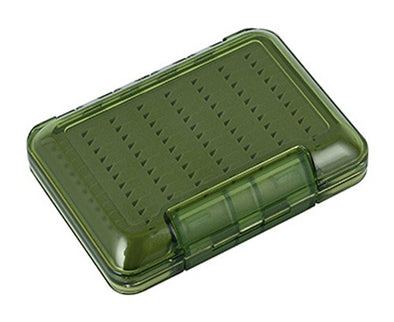 TFO Olive D/S Waterproof Triangle Slit Foam Fly Box