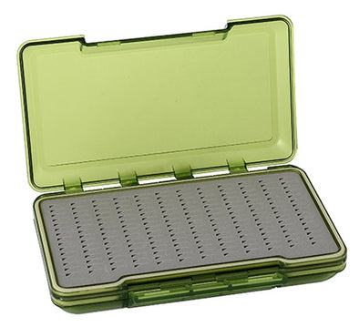 TFO Olive D/S Waterproof Triangle Slit Foam Fly Box | TFO - Temple Fork Outfitters Canada