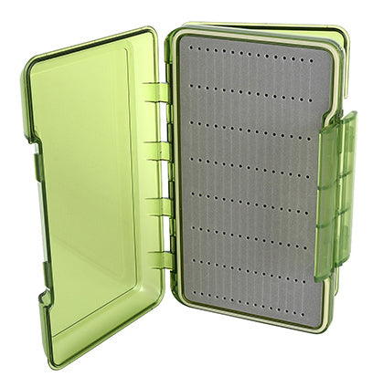 TFO Olive D/S Waterproof Streamer Slit Foam Fly Box -Lg. | TFO - Temple Fork Outfitters Canada