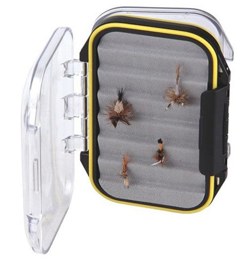 TFO D/S Waterproof Clear Lid Ripple Foam Fly Box (Now On Sale)