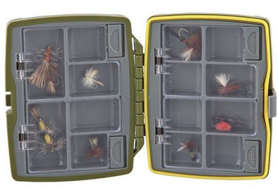TFO Waterproof 8 Compartment 2-Sided Fly Box-Sm. | TFO - Temple Fork Outfitters Canada
