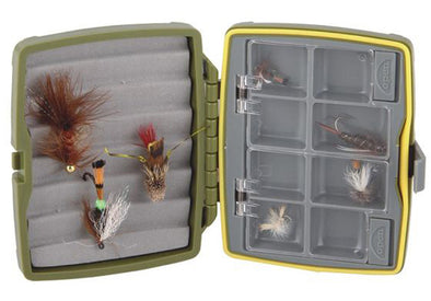 TFO Waterproof 8 Compartment / Ripple Foam Fly Box-SM. | TFO - Temple Fork Outfitters Canada