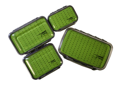 TFO Double Sided Waterproof Slit Silicone Fly Box | TFO - Temple Fork Outfitters Canada
