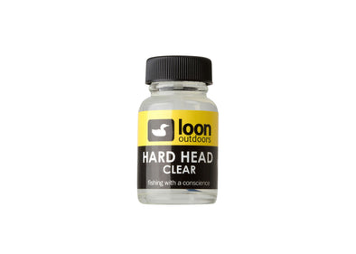 Loon Hard Head Fly Finish Cement clear