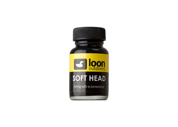 Loon Soft Head Cement Black
