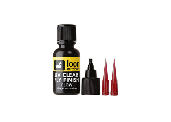 Loon UV Clear Fly Finish - Flow 1/2oz
