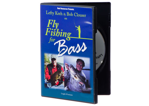 DVD-Lefty Kreh & Bob Clouser On Fly Fishing For Bass | TFO - Temple Fork Outfitters Canada