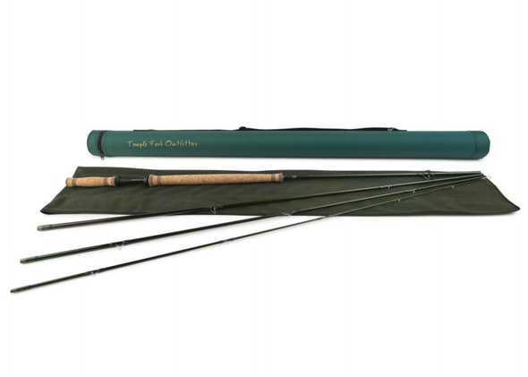 TFO BVK Spey rod and case photo