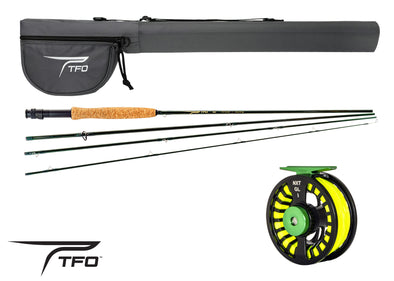 TFO Nxt Fly Rod Reel line case outfit photo