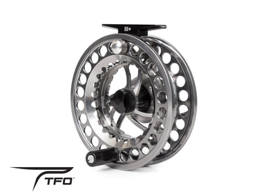 TFO BVK SD Fly Reel front Angle View