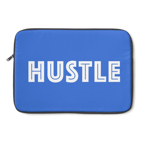 Blue Laptop Sleeve 002 - Hustle Touch