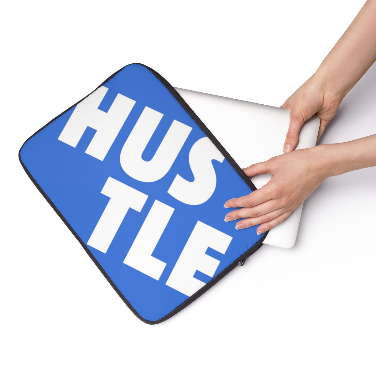 Blue Laptop Sleeve 001 - Hustle Touch