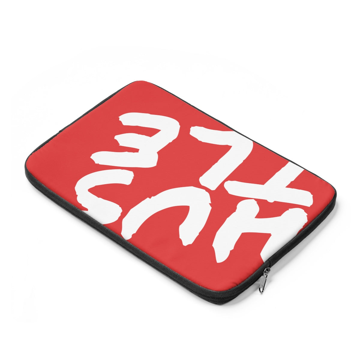 Red Laptop Sleeve 004 - Hustle Touch