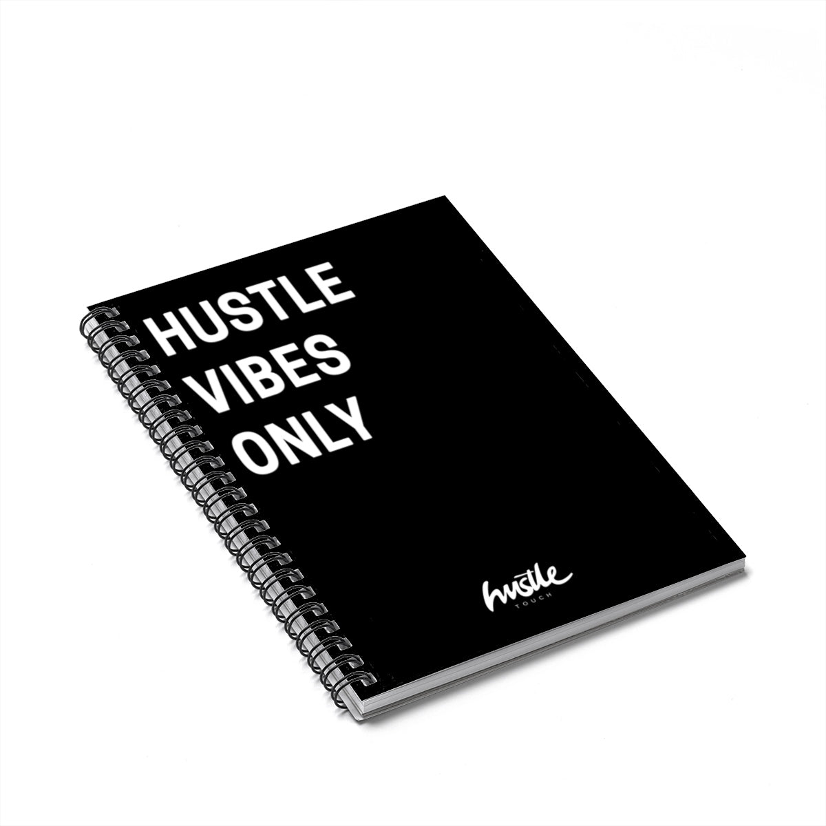 Spiral Hustle Notebook 004 - Hustle Touch