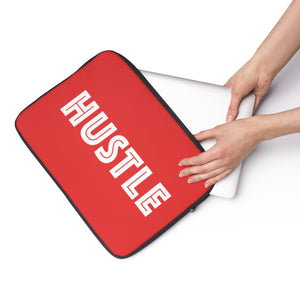 Red Laptop Sleeve 002 - Hustle Touch