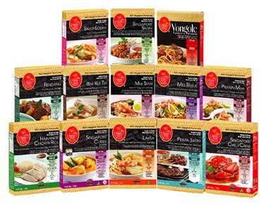 Prima Taste Best Singapore Favorites Meal Sauce Kit (BSF)