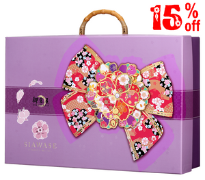 DeFoodie Mart CNY Goodies Gift Set 2019 New Arrival – Okuraya Ribbon & Cherry Blossom