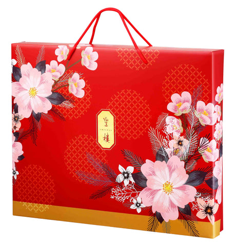 DeFoodie Mart CNY Goodies Gift Set 2020 New Arrival – Emperor Ruby Red. Consists of assorted Pastries, Cookies, Sweats. CNY Gift Set.