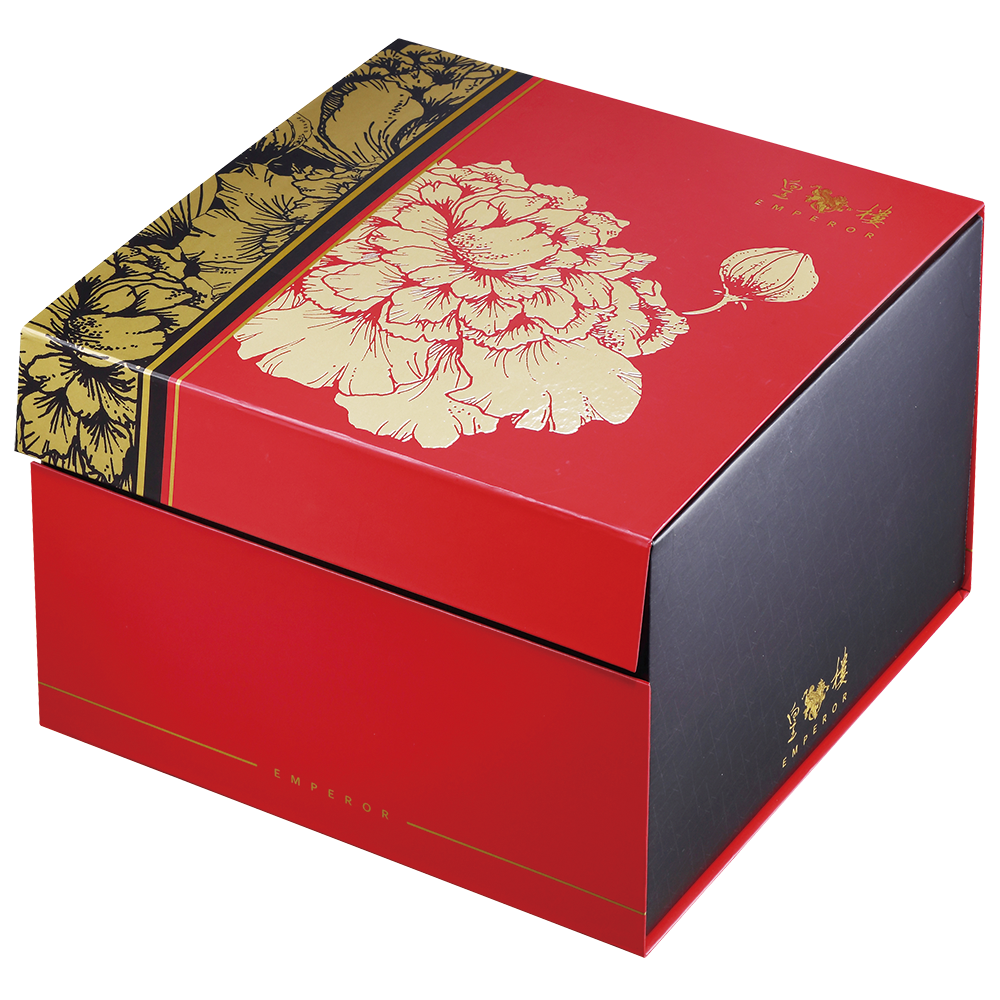 DeFoodie Mart CNY Goodies Gift Set 2019 New Arrival – Emperor Flowers Bloom