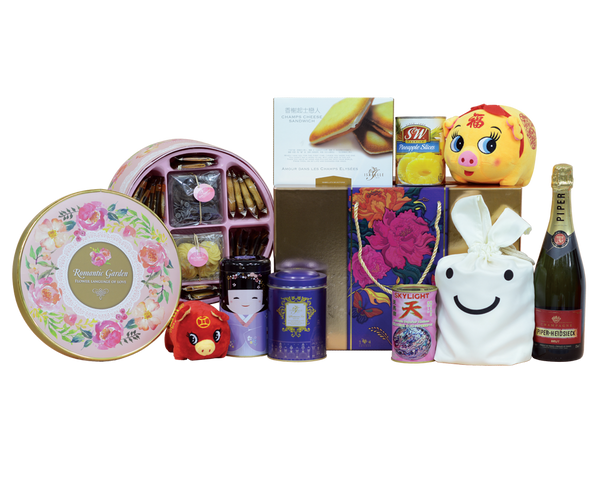 Chinese New Year Isabelle Hamper CNY 2019 Joyful Sweetness Hamper DeFoodie Mart