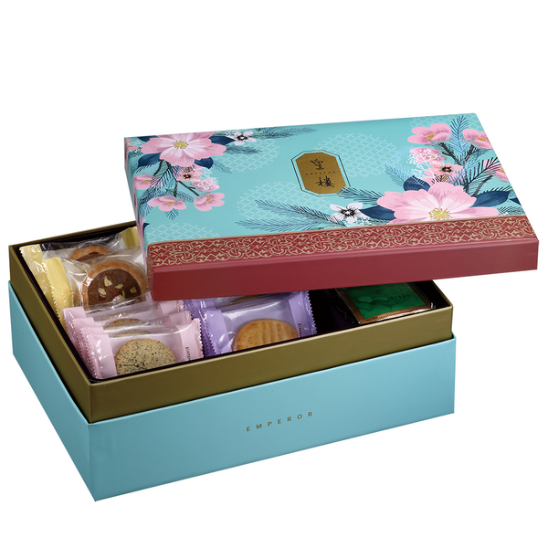 DeFoodie Mart CNY Goodies Gift Set 2019 New Arrival – Emperor Peach Blossom