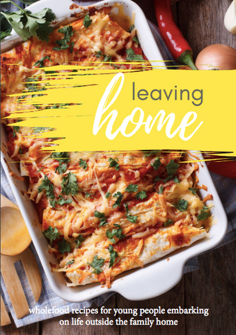 Leaving Home - A Fundraiser Cook Book For Emerge