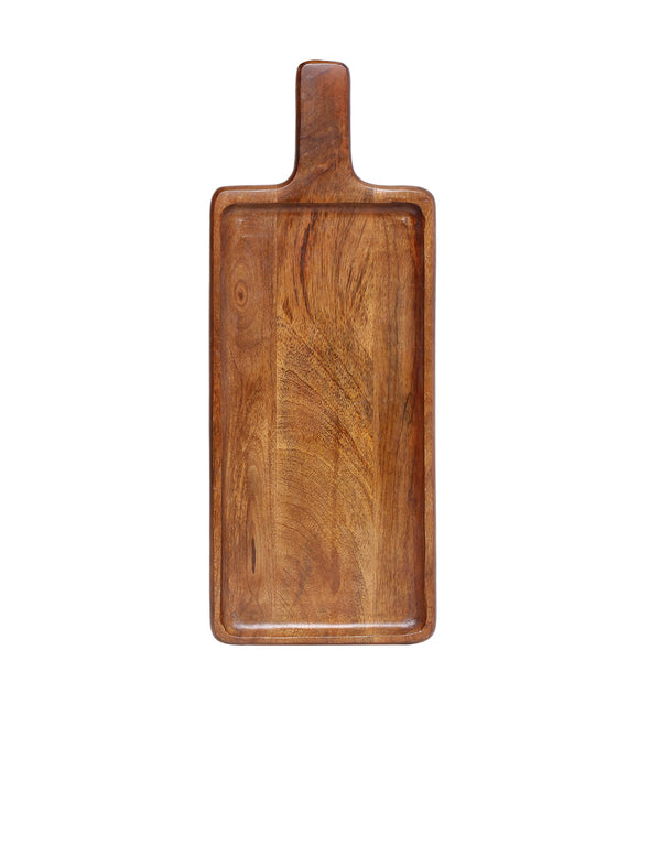Brown Serving Board - Wooden Home Decor