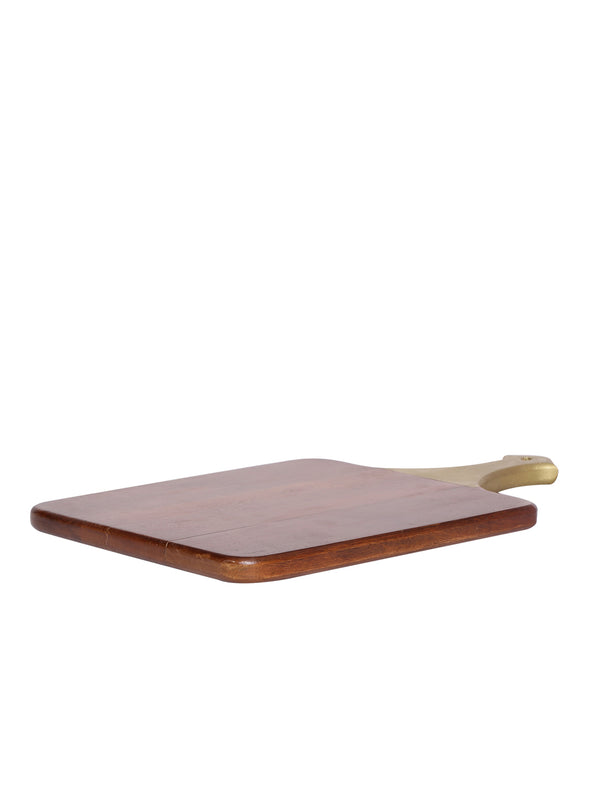 Brown Wooden Serving Board - Wooden Home Decor