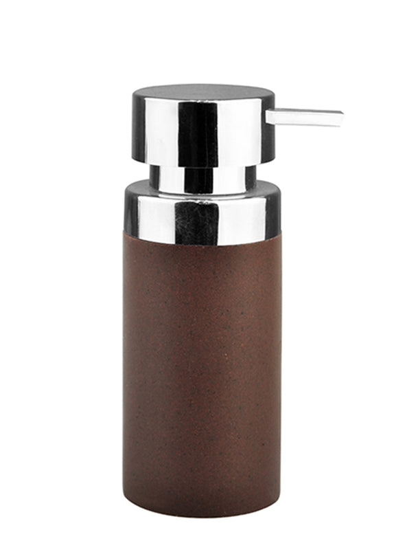 Brown Solid Liquid Soap Dispenser - Wooden Home Decor