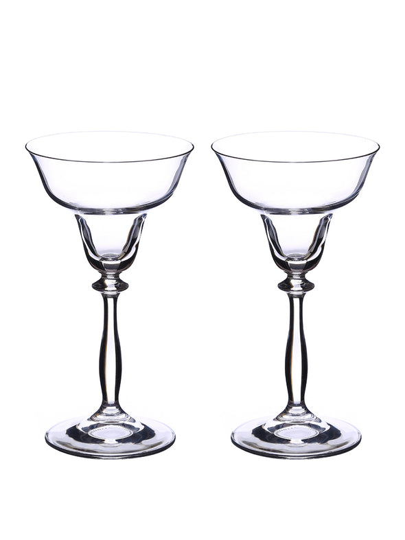 Set of 2 Angela Martini Glasses 185 ml - Wooden Home Decor